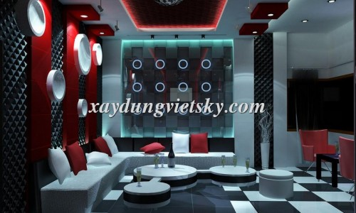 Thiết kế phòng hát karaoke phong cách  Hàn Quốc ấn tượng