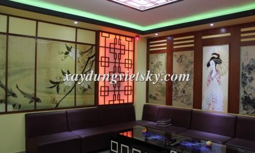 Thiết kế phòng hát Karaoke phong cách Nhật Bản_01