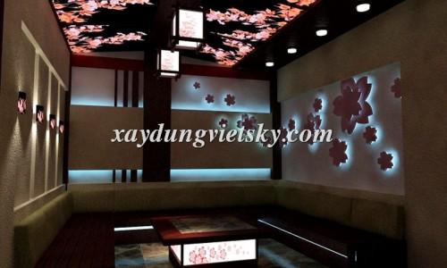 Thiết kế phòng hát Karaoke phong cách Nhật Bản_05