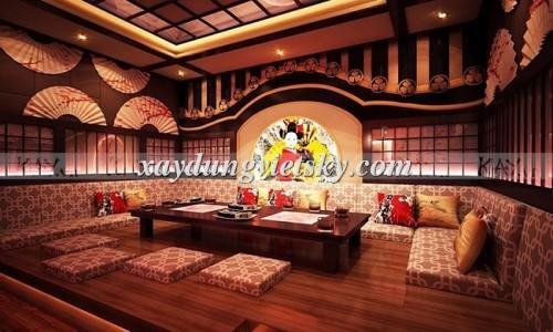 Thiết kế phòng hát Karaoke phong cách Nhật Bản_03