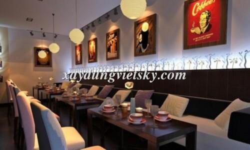 Thiết kế, xây dựng và cải tạo nhà hàng Fast Food 123