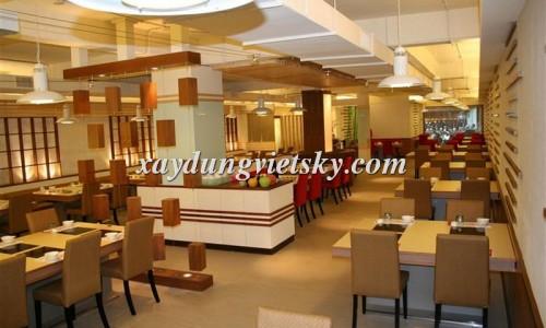 Thiết kế, xây dựng và cải tạo nhà hàng Vĩnh Lộc