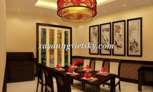 Thiết kế, xây dựng và cải tạo nhà hàng Á Đông