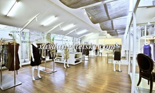 Thiết kế, xây dựng & cải tạo Showroom quần áo