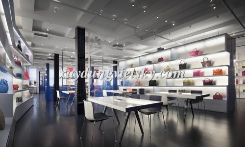 Thiết kế, xây dựng & cải tạo Showroom túi xách