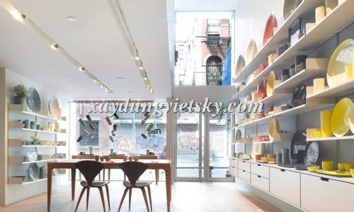 Thiết kế, xây dựng & cải tạo Showroom gốm sứ
