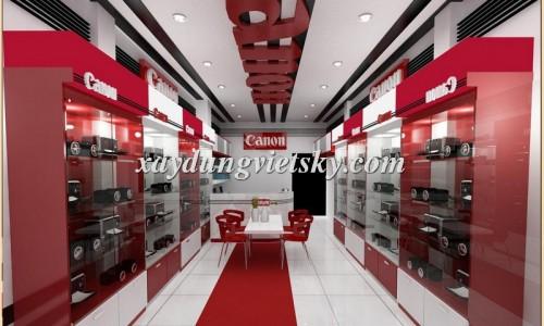 Thiết kế, xây dựng & cải tạo Showroom máy ảnh
