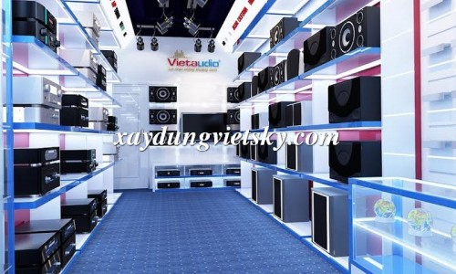 Thiết kế Showroom ấn tượng tại Hà Nội