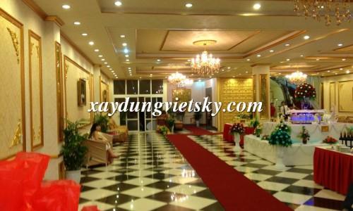 Thi công phào trang trí cho nhà hàng, khách sạn tạo nên vẻ đẹp sang trọng, ấm cúng