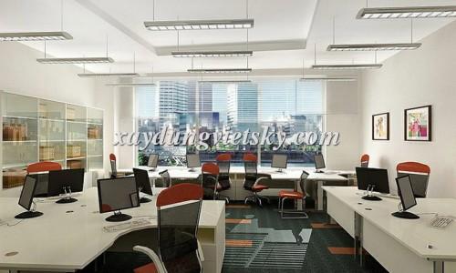 Thiết kế văn phòng Cty Đa Lợi, Thanh Xuân