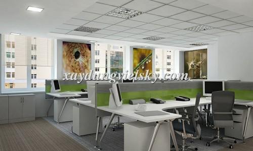 Thiết kế văn phòng Cty Sáng Tạo Việt, Ba Đình