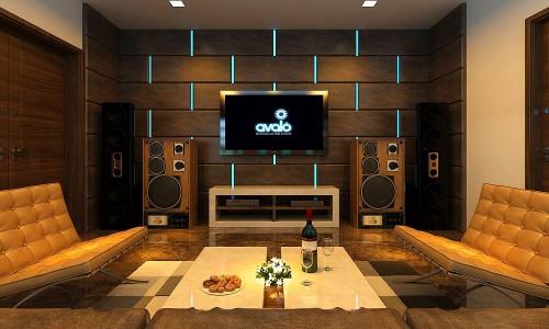 Thiết kế, thi công phòng hát karaoke gia đình giá rẻ, uy tín