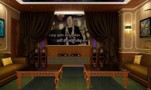 Phòng hát gia đình Vinhome 10