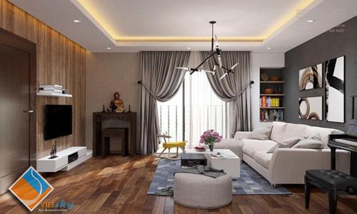 Thiết kế nội thất chung cư, xây dựng và cải tạo chung cư Time city sang trọng, hiện đại.