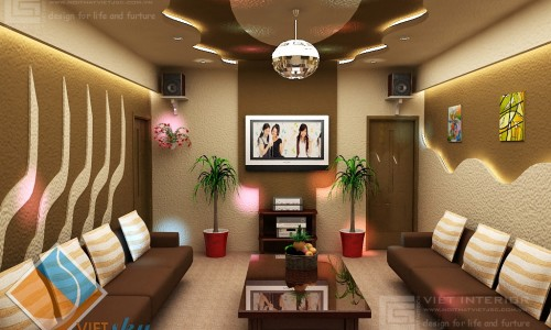 Mẫu Phòng Hát Phong Cách Hàn Quốc 01